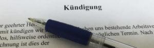 Kündigung - Fachanwalt für Arbeitsrecht Scharrer Mainz und Wiesbaden